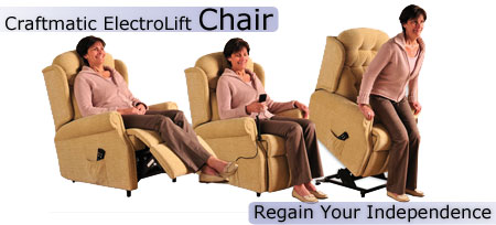 Craftmatic Electric Lift Chair - Regain Your Independence