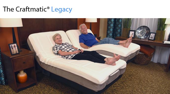Legacy Adjustable Bed Craftmatic 174 Adjustable Beds